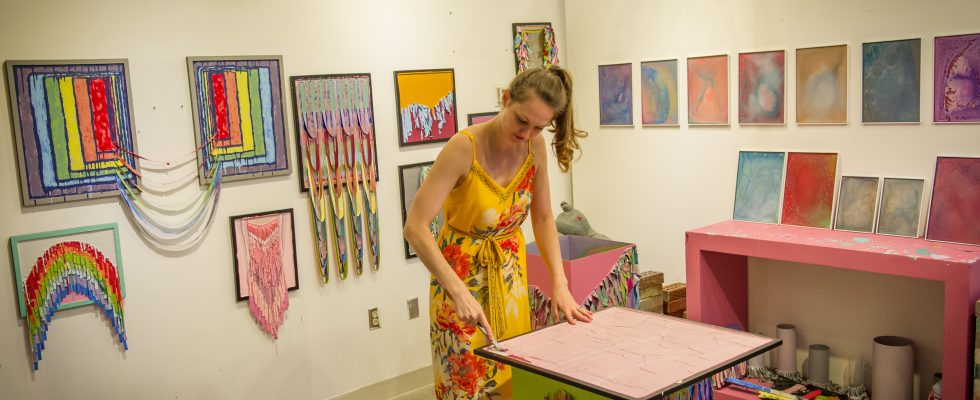 Arlington Arts Center Residency Program