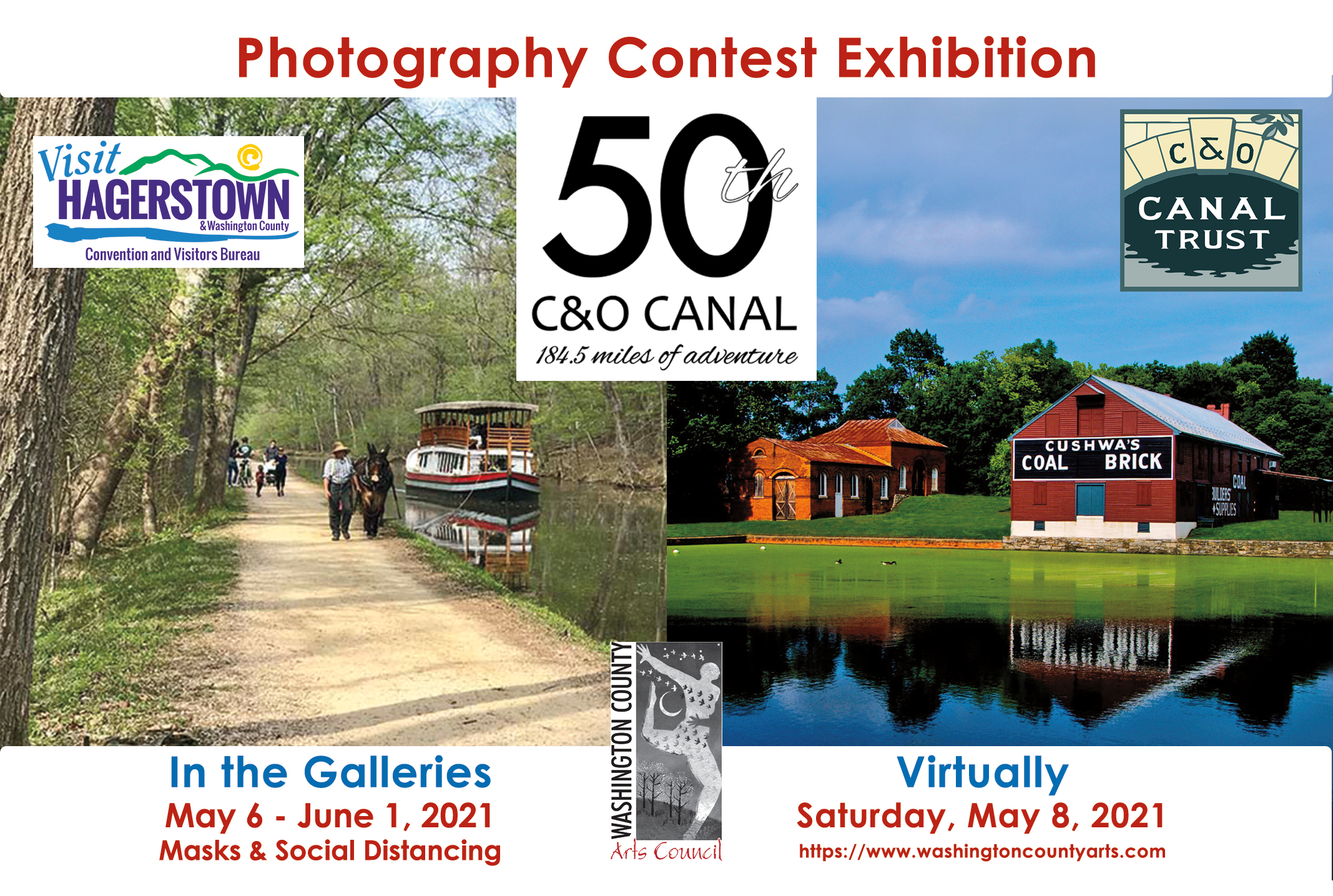C&O Canal 50th Anniversary Juried Photography Exhibition