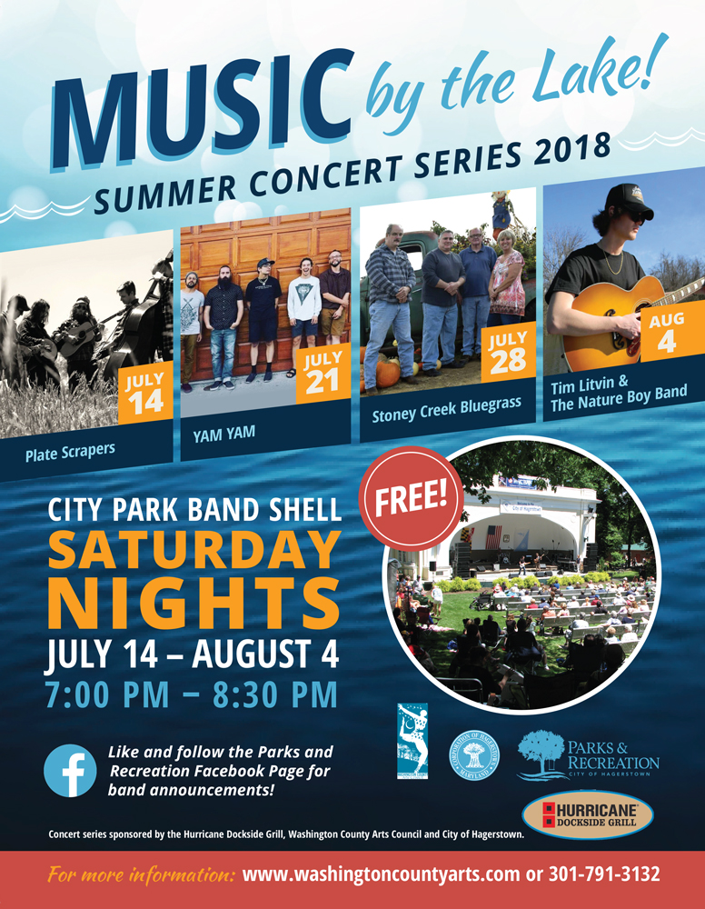 Music by the Lake 2018