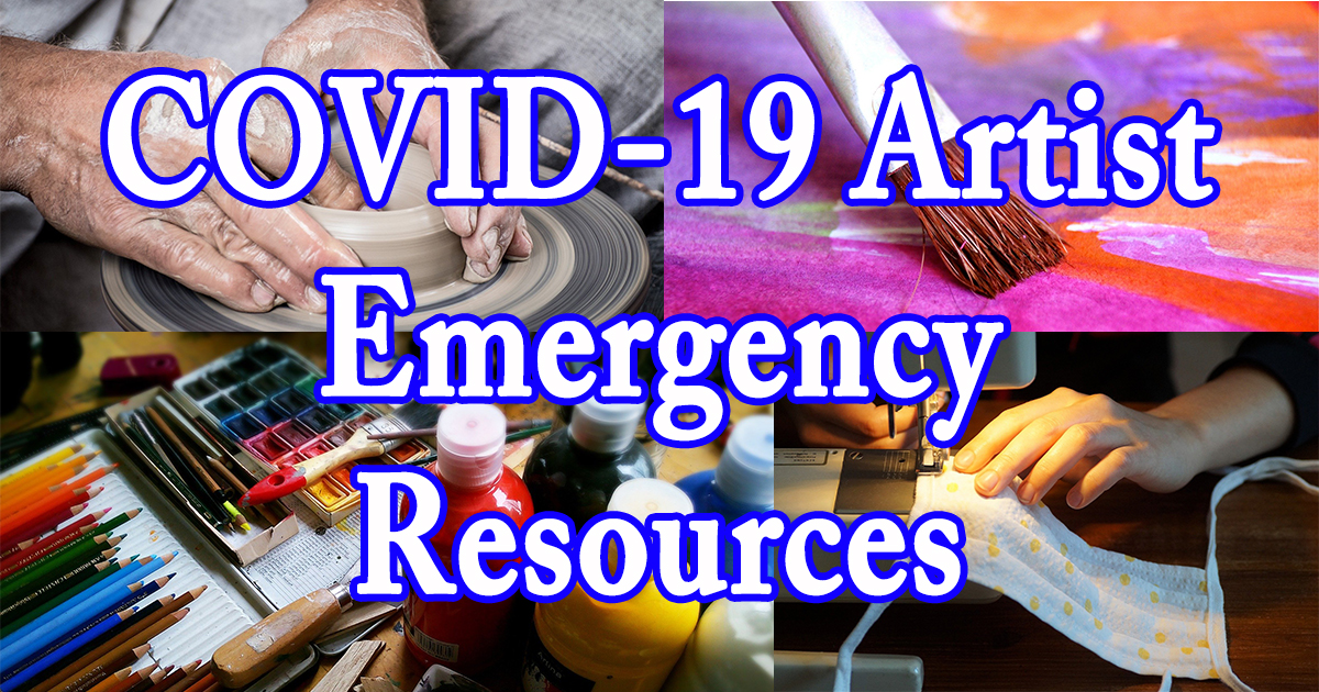 COVID-19 Artist Emergency Resources